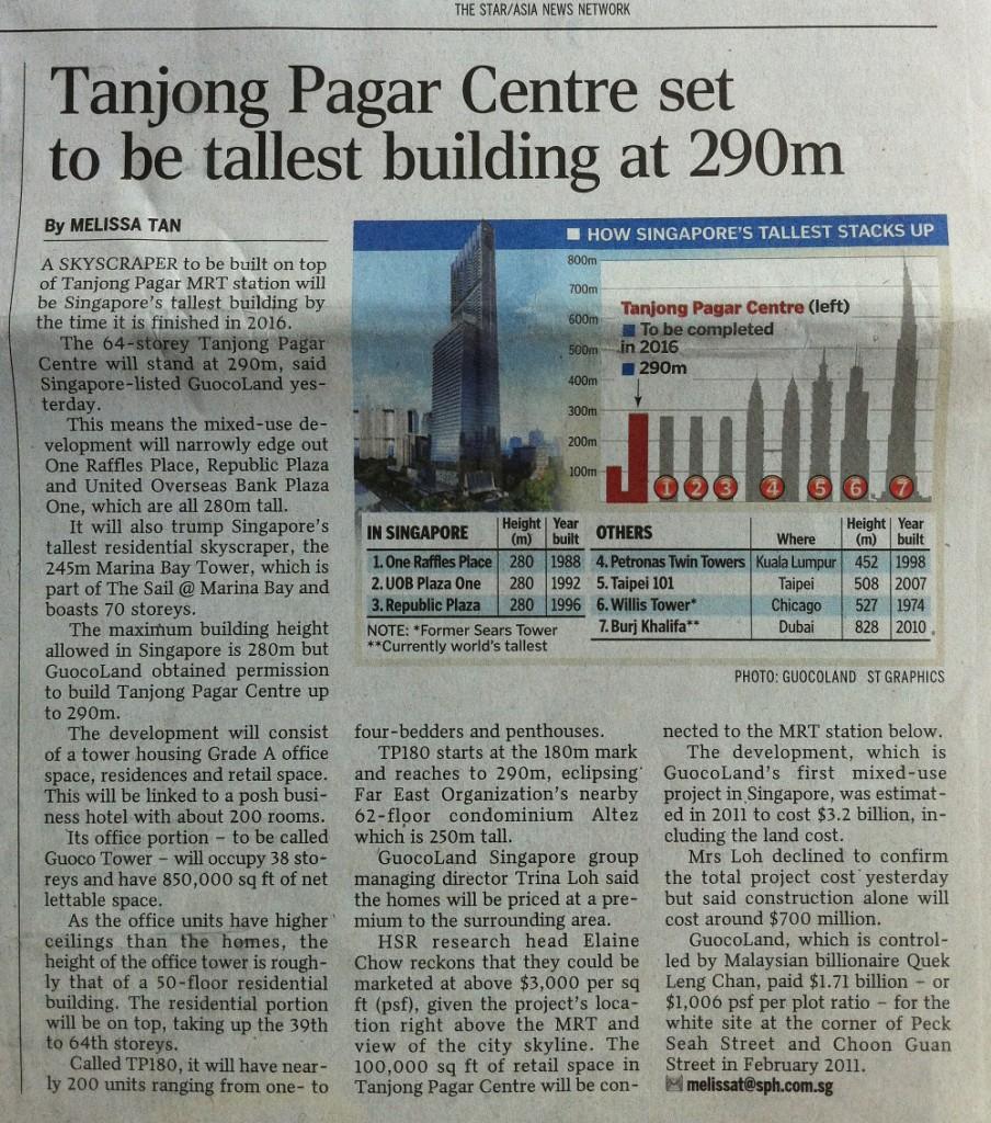 Guoco Tower @ Tanjong Pagar Centre