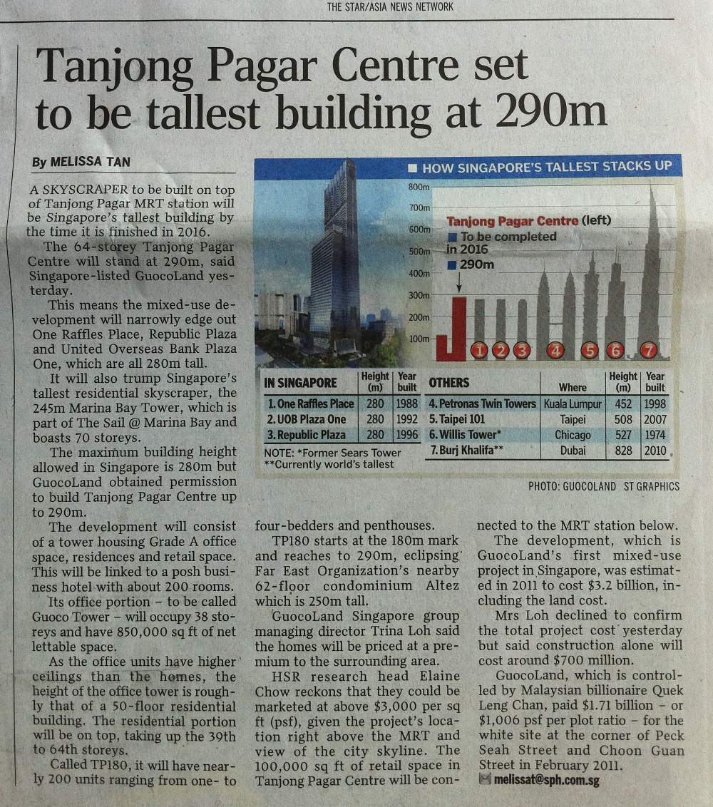 Guoco Tower @ Tanjong Pagar Centre