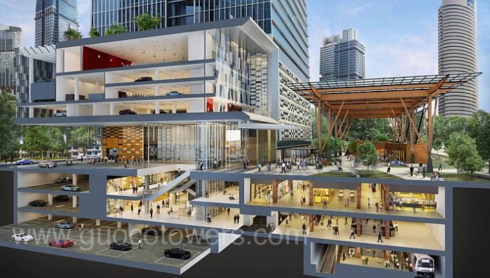 Guoco Tower at Tanjong Pagar Centre